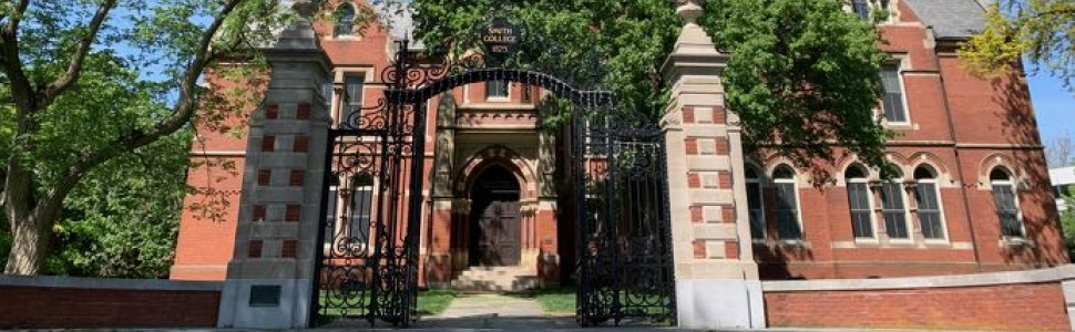 Grecourt gates and College Hall